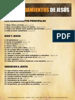 Los 120 Mandamientos de Jesús