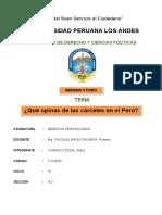 Las Cárceles Del Perú