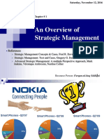 01. an Overview of Strategic Management (2016)