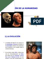 La Evolución de La Humanidad