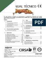 Man.tec. Piratas Caribe Unificado 655011823