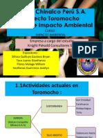 MINERA CHINALCO - UBICACION