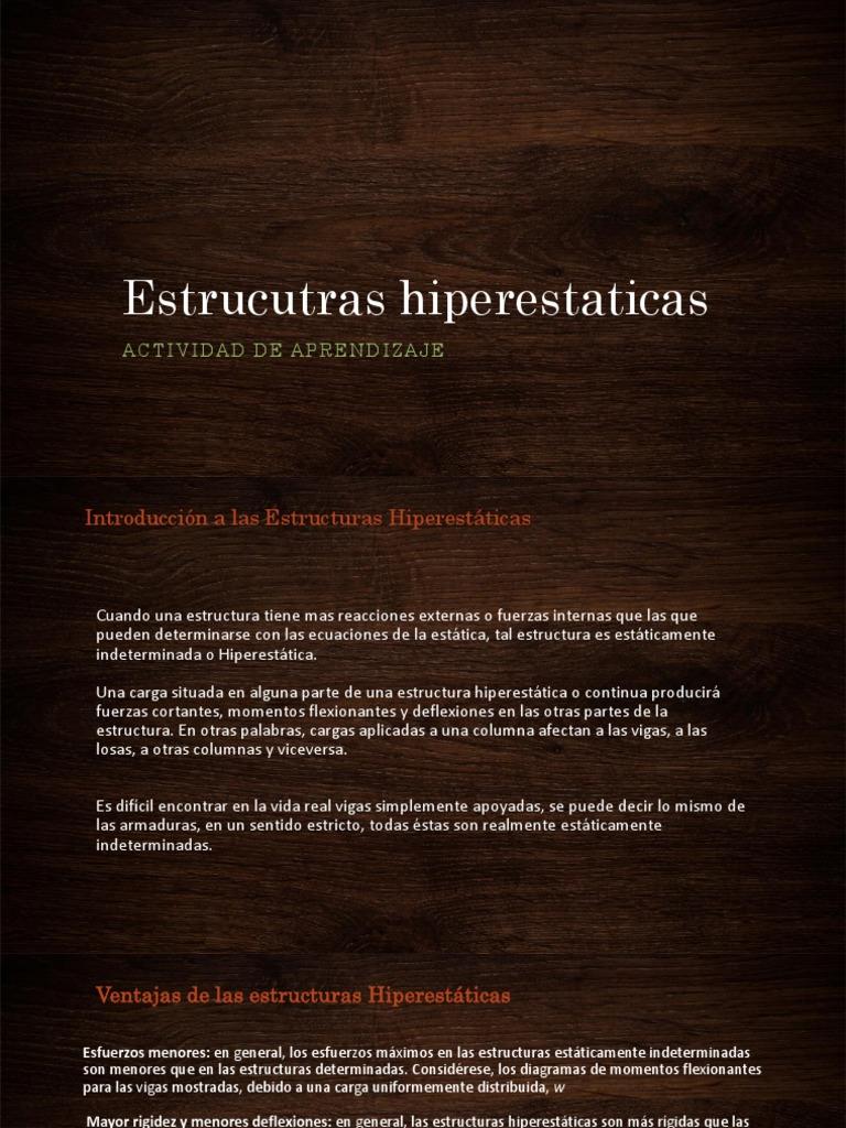 Estrucutras Hiperestaticas
