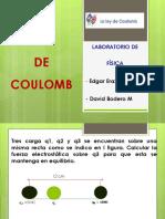 Ley Coulomb Ejercicio Resuelto