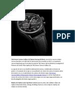 TAG Heuer Carrera Calibre 36 Flyback Racing All Black Replica Del Reloj