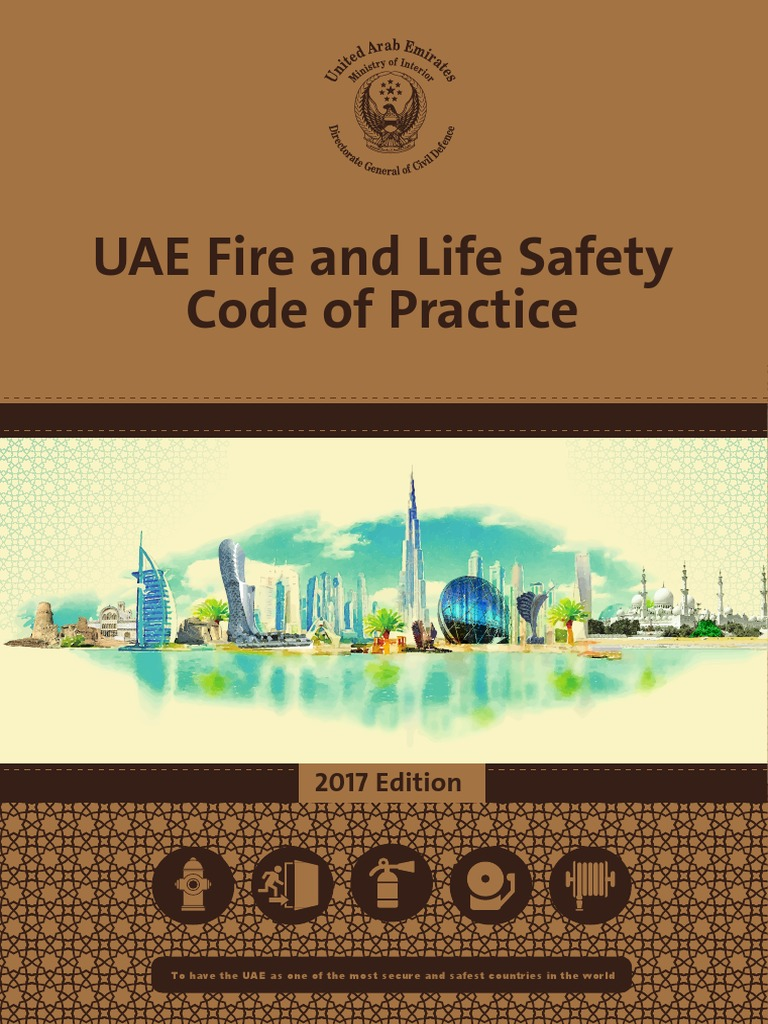 Uae Fire Life Safety Code Of Practice 2017 Final United Arab Ivtrouble Shooting Your Electric Fence Emirates