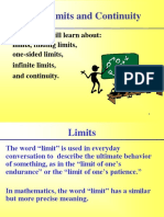 Limits and Continuity -Ch2