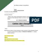 Cahier Des Charges ENTREPRISES 1