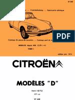 648 D parts 1972-75