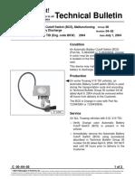 Vw.tb.00!04!05 Automatic Battery Cutoff Switch (BCS), Malfunctioning