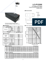 Brosur Panasonic Lc-p12200
