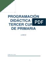 Programación 3º 2017-18