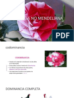 Herencia No Mendeliana