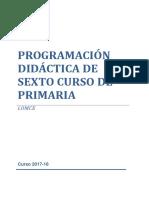 Programación 6º 2017-18