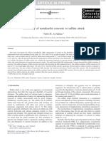 2006 Nabil Metakaolin Sulfate Different Esurc
