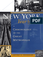 Jeffrey Kroessler -New York, Year by Year