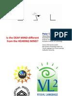 Deaf Hearing Mind