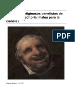 2017 - Burany, Stephen - Son Los Vertiginosos Beneficios de La Industria Editorial Malos Para La Ciencia