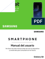 Manual Samsung Galaxy s8