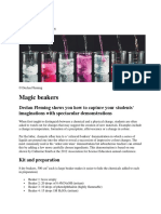 Magic beakers + modele in clasa
