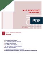 IAS 7 Rendiconto Finanziario