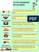 Substitutos dos Doces