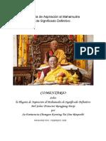 Plegaria de Aspiración Al Mahamudra de Significado Definitivo%2C Compuesta Por El Tercer Karmapa