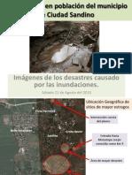 Afectacion Por Lluvias en Ciudad Sandino