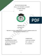 Rough Draft Property Law