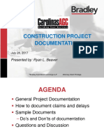 Construction Project Documentation
