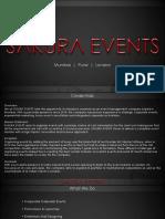 Sakura Events - Event Management Company