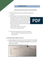 informational tasks