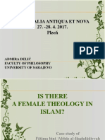 UIs there a female theology in islam