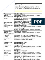 What's on in Haringey Libraries  September 2010