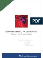 McKinsey - 20090209 Mobile Broadband Article 1