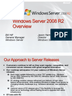 Windows Server 2008 R2 Overview