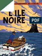 7 - Tintin Et Lile Noire Tome 7