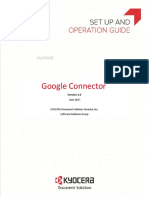 Google Connector Operations Guide June 2017