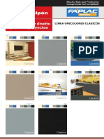 Catalogo de Colores Faplac