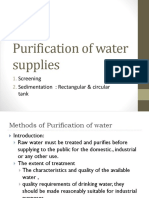 Treatment of water- screening & sedimentation.pptx