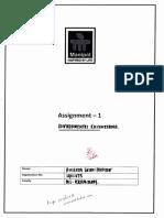 Environment Assignment 1