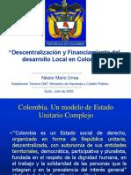 Descentralización y Financiamiento Del Desarrollo Local.sin