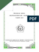 Program Kerja Ekstrakurikuler 2015
