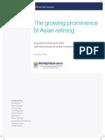 Asian Refining Growning
