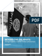 Beyond the Caliphate Foreign Fighters and the Threat of Returnees TSC Report October 2017