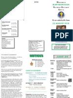 Newsletter August 22 2010
