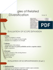 Strategies of Related Diversification