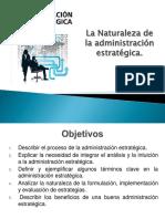 La Naturaleza de La Direccion Estratégica