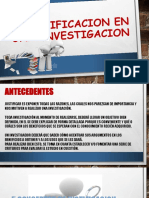 Justificacion en Una Investigacion