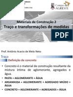 Aula 12 - Traços - Antonio 2015 (1)